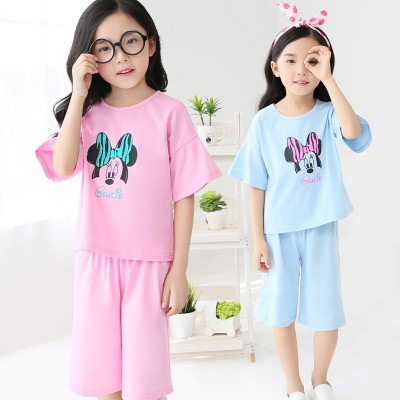 童装套装女童宝宝夏装儿童衣服女2016新款夏款中大童短袖两件套潮