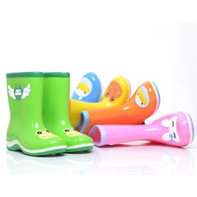 儿童雨鞋男童女童防滑水鞋 宝宝雨靴学生胶鞋儿童夏季雨鞋夏中筒