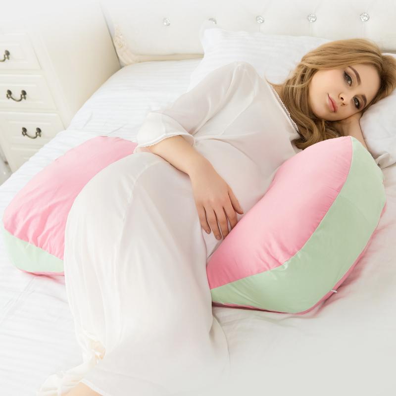 小西米木 孕妇枕头u型枕护腰侧睡枕多功能孕妇睡枕侧卧睡觉抱枕夏
