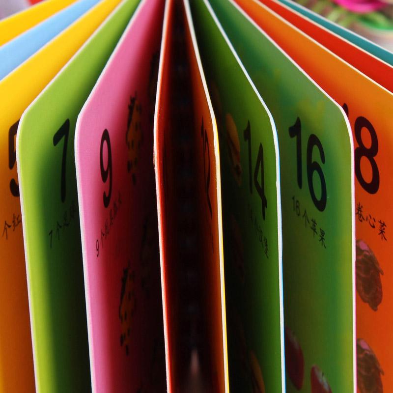 婴幼儿童撕不烂早教书0-3岁玩具宝宝启蒙认知卡片看图识字图书籍