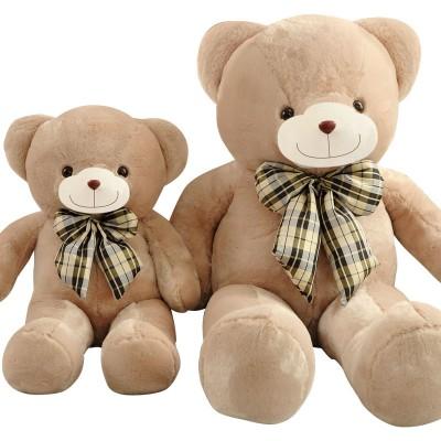 正版泰迪熊公仔毛绒玩具熊猫抱抱熊1.2米1.6米大号布娃娃生日礼物